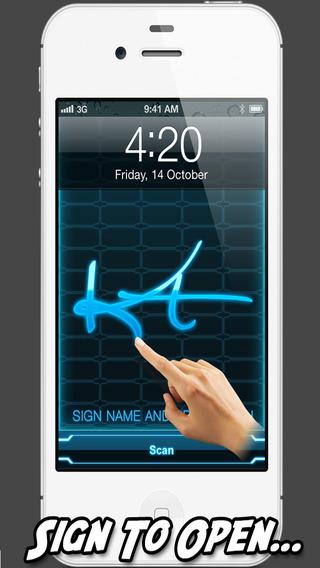 Signature Scanner Pro : Security Prank