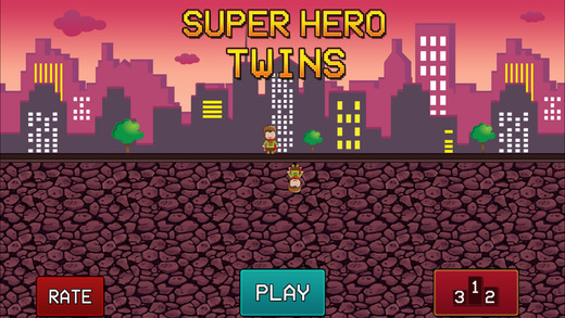 Super Hero Twins