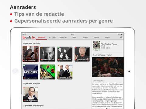 TVGiDS.tv 1.0 voor iPad