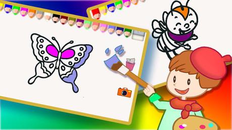《天才小画家 2 - 儿童给昆虫涂色》免费下载-多多