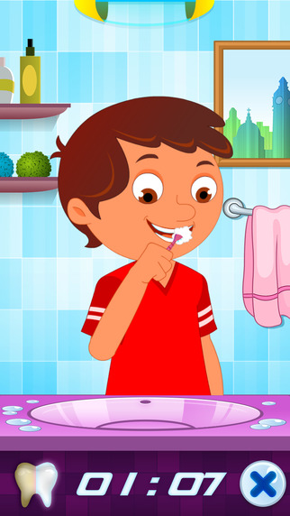玩免費教育APP|下載My Tooth Brush For Kids app不用錢|硬是要APP