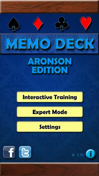 Memo Deck Aronson Edition