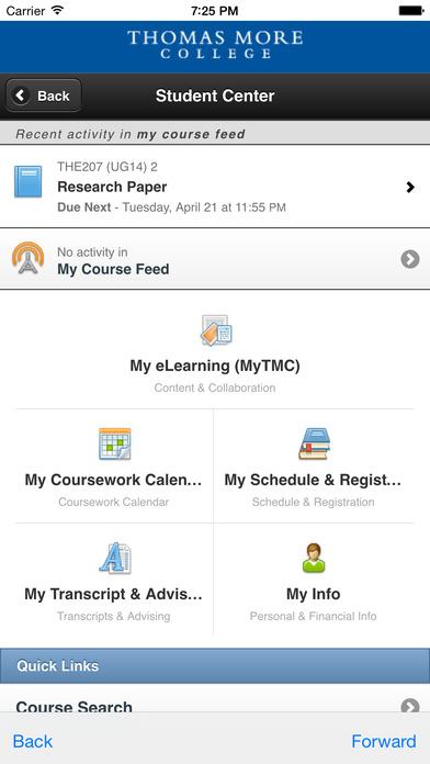 iTMC Mobile iPhone Screenshot 3