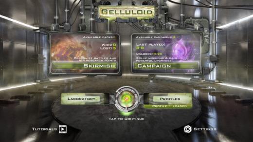 Gelluloid Pro: Micro War Strategy