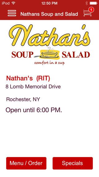 Nathan's Soup and Salad