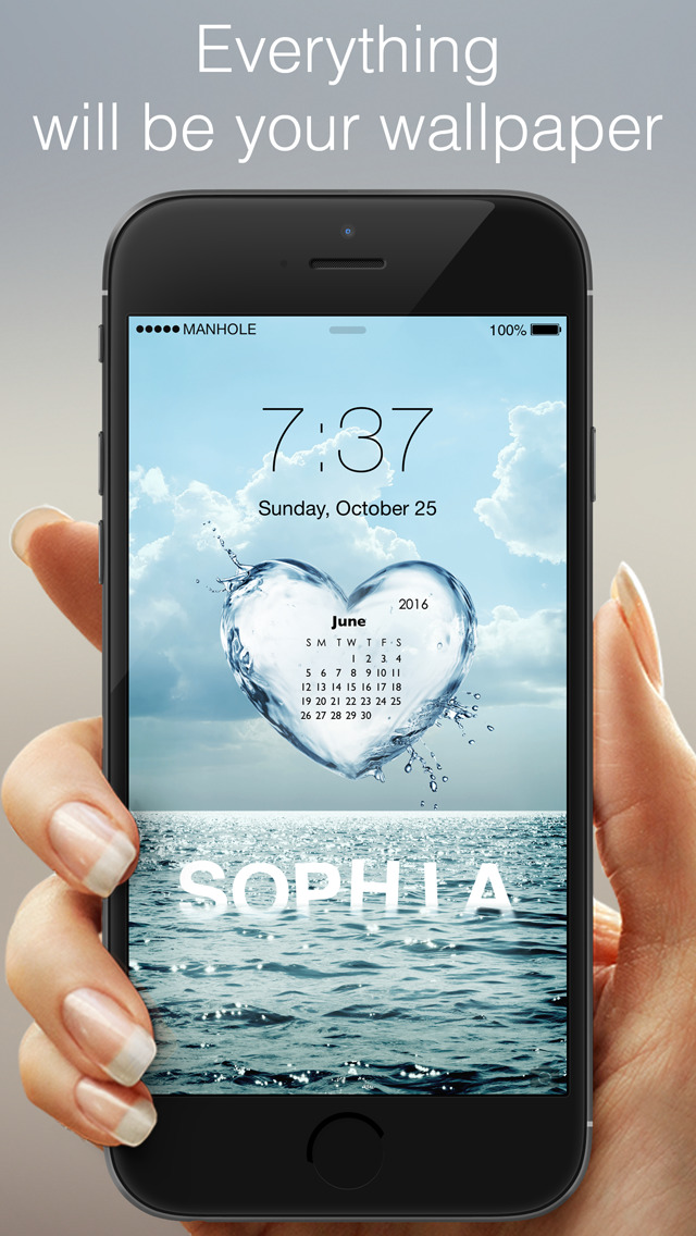 Download magic screen customize your lock home screen for Wallpaper home lock