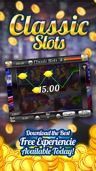 All-In Vegas Casino Classic 777 Star's - Journey on Slot-o Machines with Bonus and Paylines