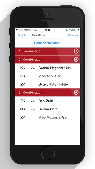 Karate-App - Kihon-Generator - Karate - Fitness - Training
