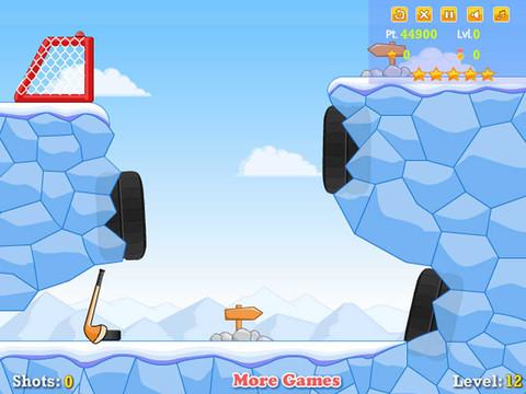 Ice Hockey Shot iPad Screenshot 3