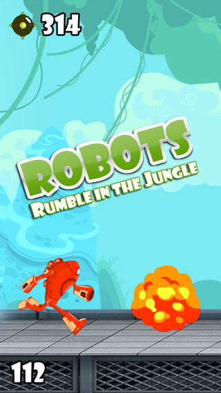 Adventure Robots – Robot Rumble in the Jungle