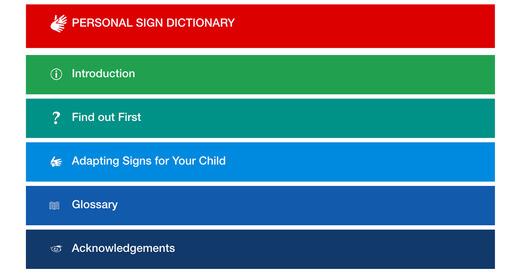Adapting Signs