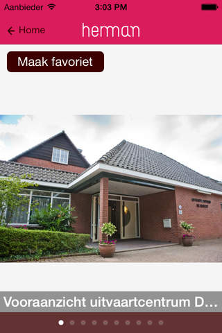 Herman Tomesen Uitvaartverzorging BV screenshot 1