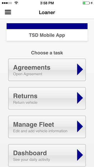 TSD Loaner Mobile
