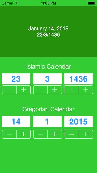 CalendarStepper