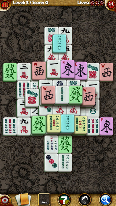 Random Mahjong iPhone Screenshot 1
