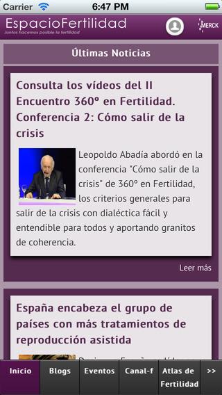 EspacioFertilidad - Merck Serono