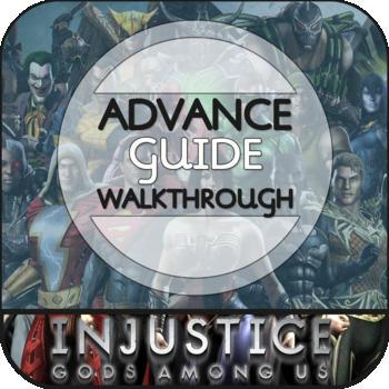 Guide for Injustice: Gods Among Us LOGO-APP點子