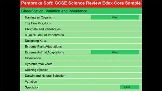 Sample Edexcel Single award GCSE Science Review
