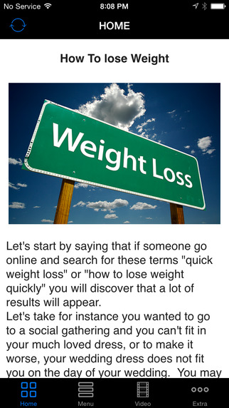 Lose Weight Right