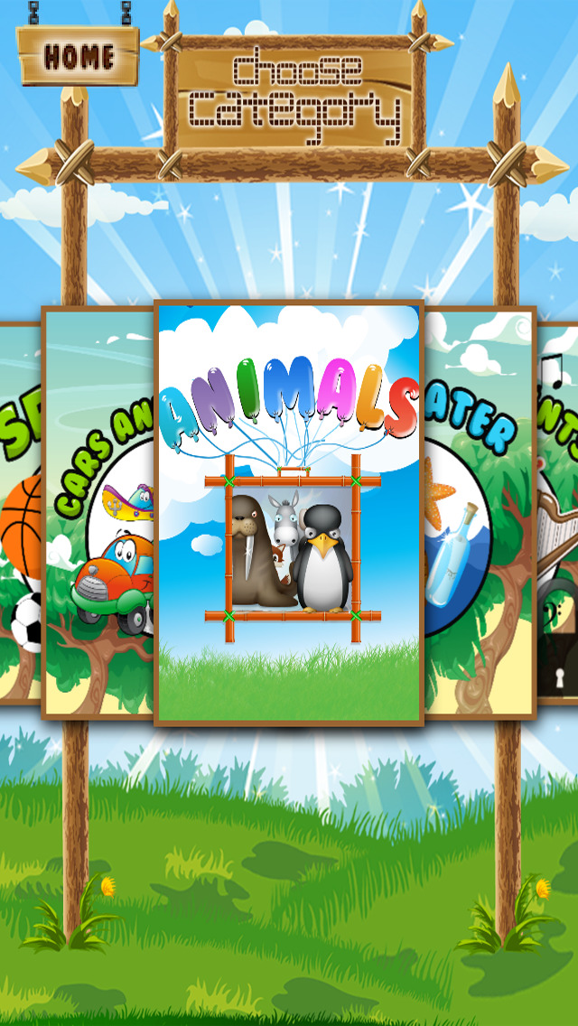 A Matching Game for Children: Learning with Animals
