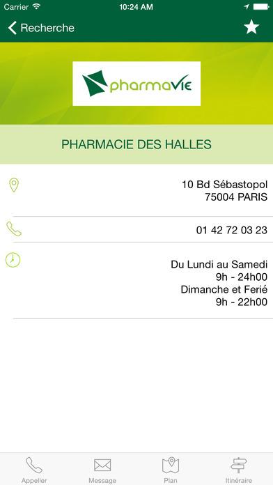iPharmaVie iPhone Screenshot 4
