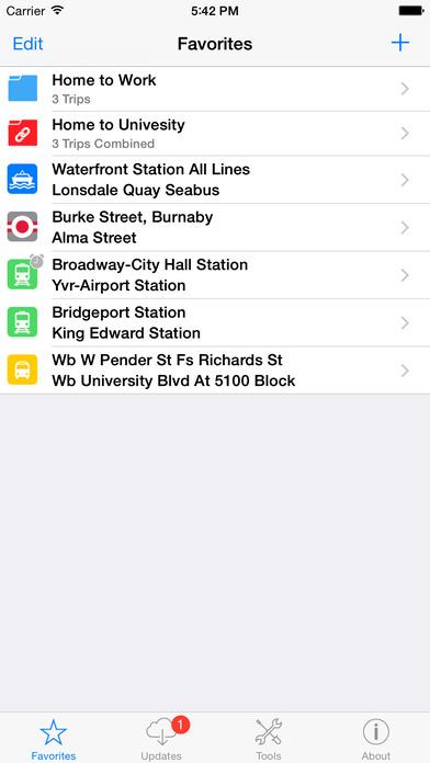 Go Vancouver iPhone Screenshot 2