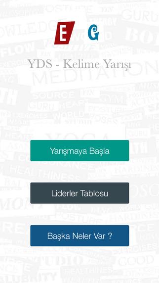 EG YDS - İngilizce Kelime Yarışı