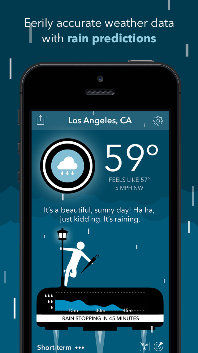 CARROT Weather screenshot 2