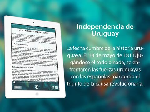 La independencia de Uruguay: Hecho Histórico iPad Screenshot 1