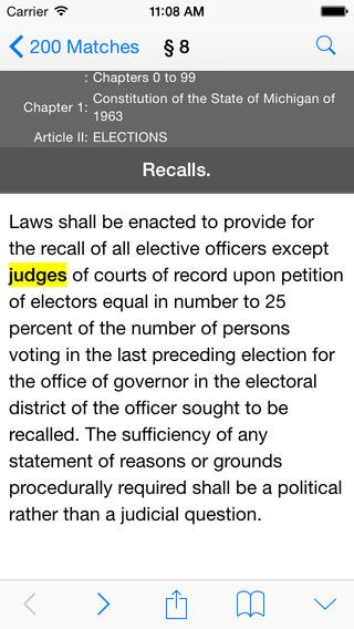 MI Law Michigan Compiled Statutes Codes