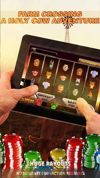 Farm Crossing A Holy Cow Adventure Slots - FREE Slot Game Spin to Win Big