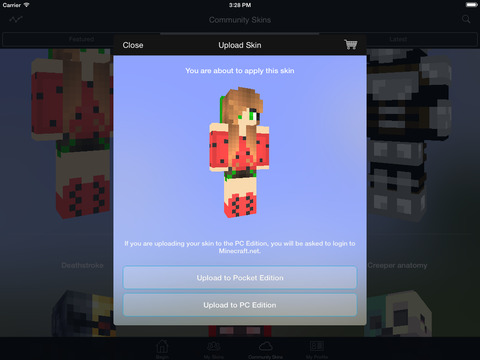 Minecraft Skin Studio Encore Official Skins Creator For Minecraft - Skins para minecraft pe pc