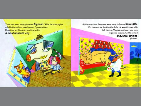When Pigasso Met Mootisse by Nina Laden on iBooks