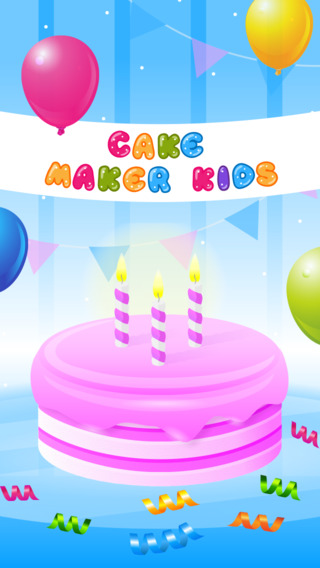 Cake Maker Kids - Dessert Cooking Game