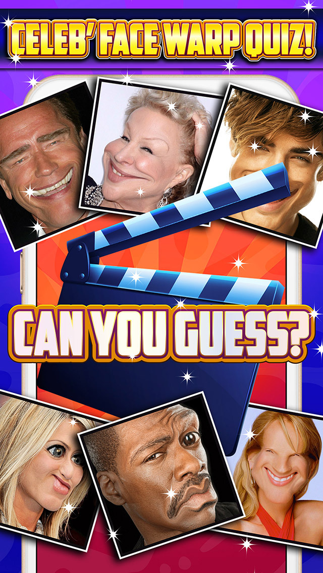 Random celebrity trivia game