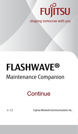 Fujitsu FLASHWAVE® Maintenance Companion