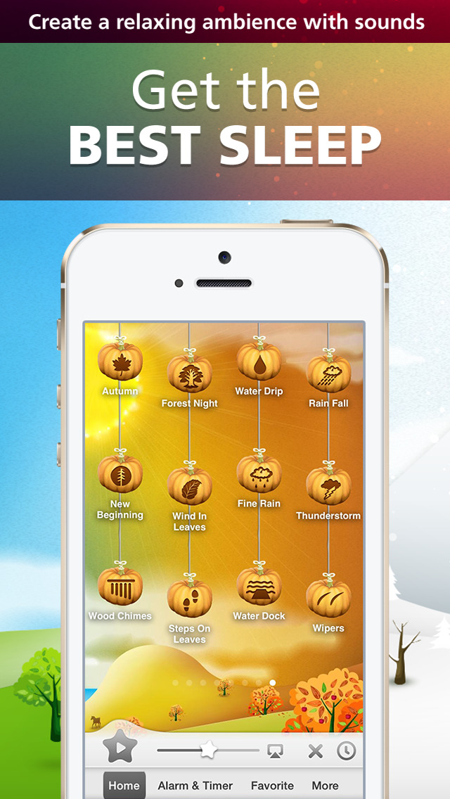 Relax Melodies Seasons Premium: Music and white noise for sleep, relaxation & yoga screenshot 1
