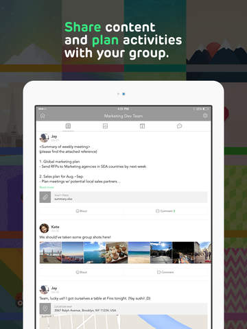 BAND - Private Group Sharing, Messaging and Planning