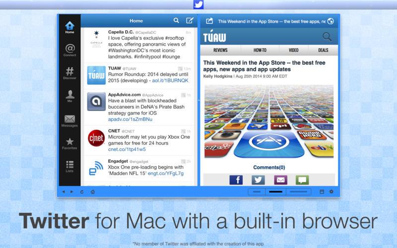 TwitterApp - Twitter 客户端[OS X]丨反斗限免