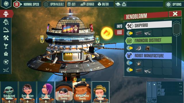 Cosmonautica Screenshots