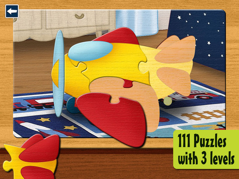 【免費遊戲App】Kids Puzzles 2+:  Jigsaw Puzzle School Learning Game for Preschoolers and Toddlers to Develop Concentration and Problem Solving Skills-APP點子