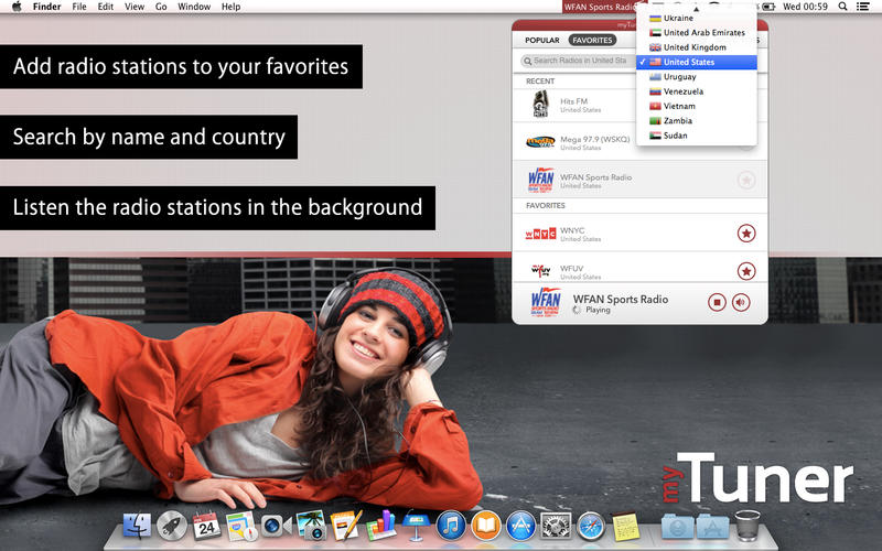 myTuner Radio Free Screenshot