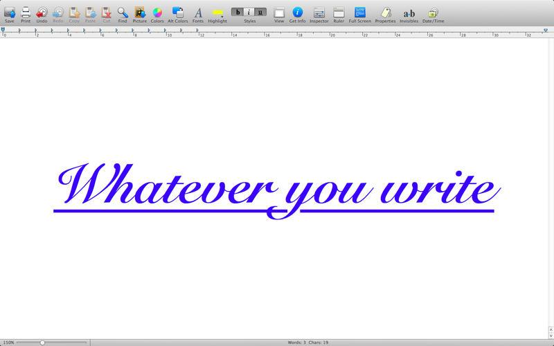 WordTime Screenshot - 2