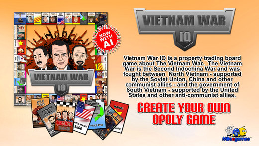 Vietnam War IO opoly