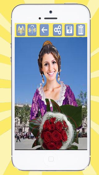 Your photo with the fallera – fallas 2015 - Premium