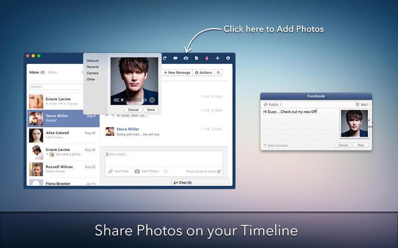 MessagePro for Facebook Screenshot - 5