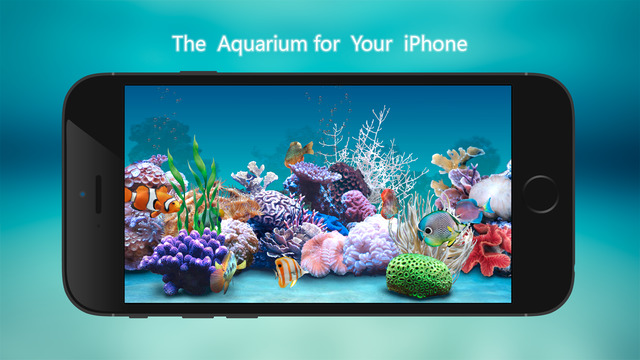 Tanked Aquarium 3D - Relaxing Tropical Scenes with Coral Reef Sharks Fish Tank
