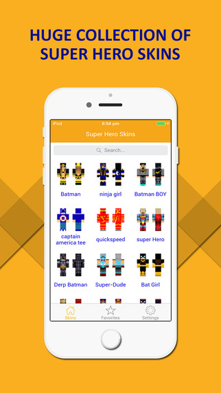 Best SuperHero Skins Lite - Ultimate Collection for Minecraft PE PC