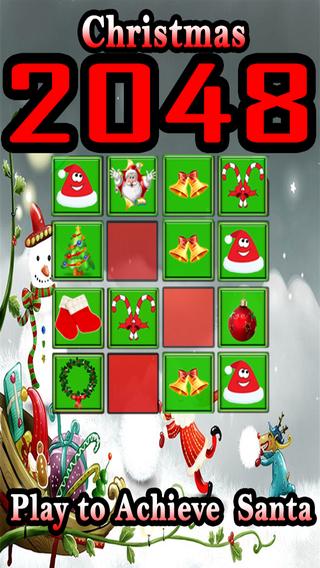 Christmas 2048-Play to Acheive Santa Tiles
