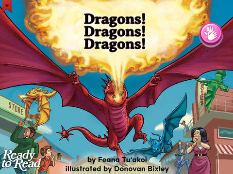 Dragons Dragons Dragons - Ready to Read